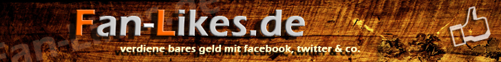 ~Geld verdienen mit Facebook & Co bei Fan-Likes.de~